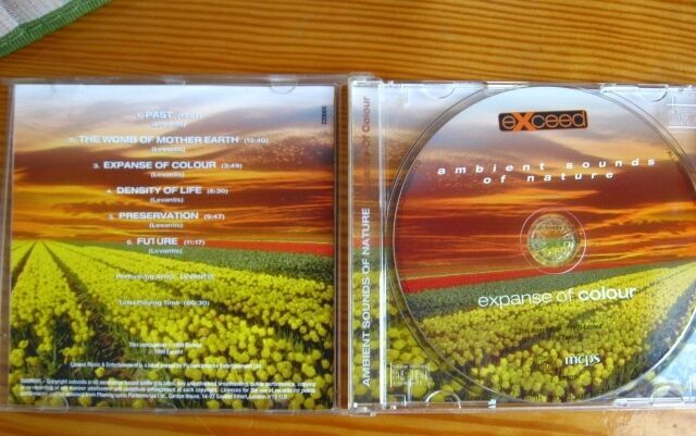 Аудио сд диск музыка релакс эмбиент