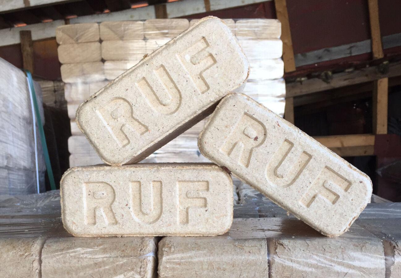 Топливные брикеты Ruf (руф) сосна/дуб, высшего качества от 2990 грн