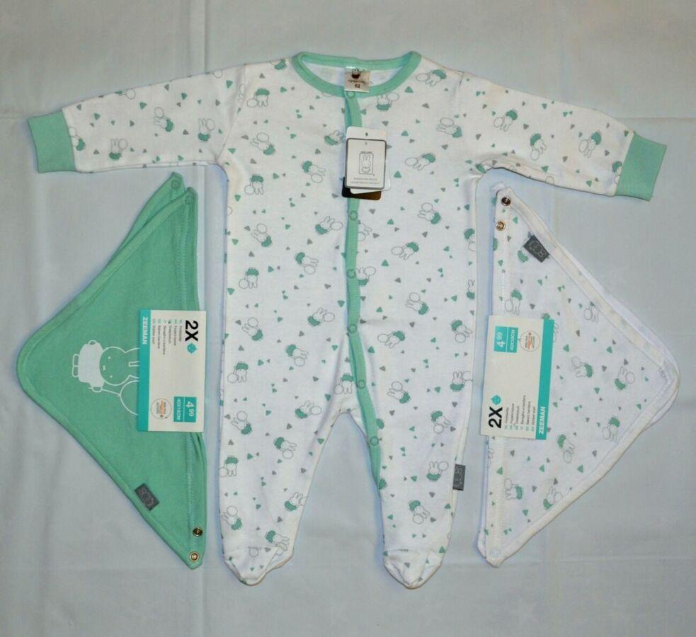 Человечек для мальчика для девочки р.62 (2-4мес) слип пижама голландия