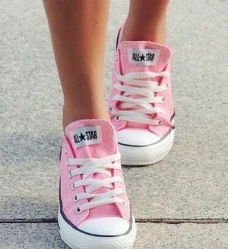 Converse All Star розовые