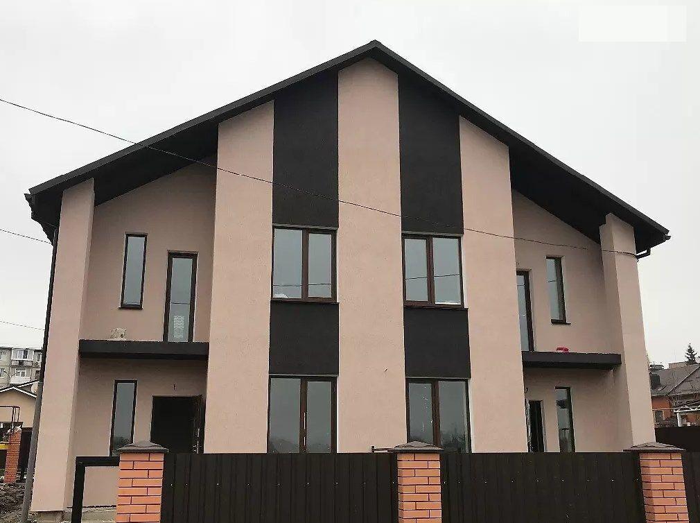 Новый 2 этажный дом 100м2 с отоплением и участком на 2.5с, Вишенка
