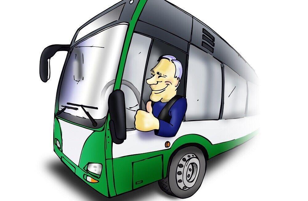 Смешные автобусы в картинках, скучаю очень