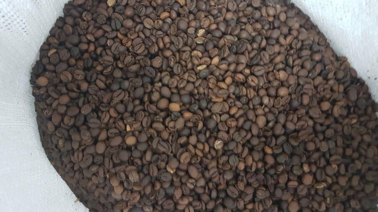 Кофе, сорт робуста 1кг.