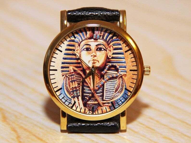 Часы тутанхамон, египетские часы, часы сувенир, женские часы, мужские