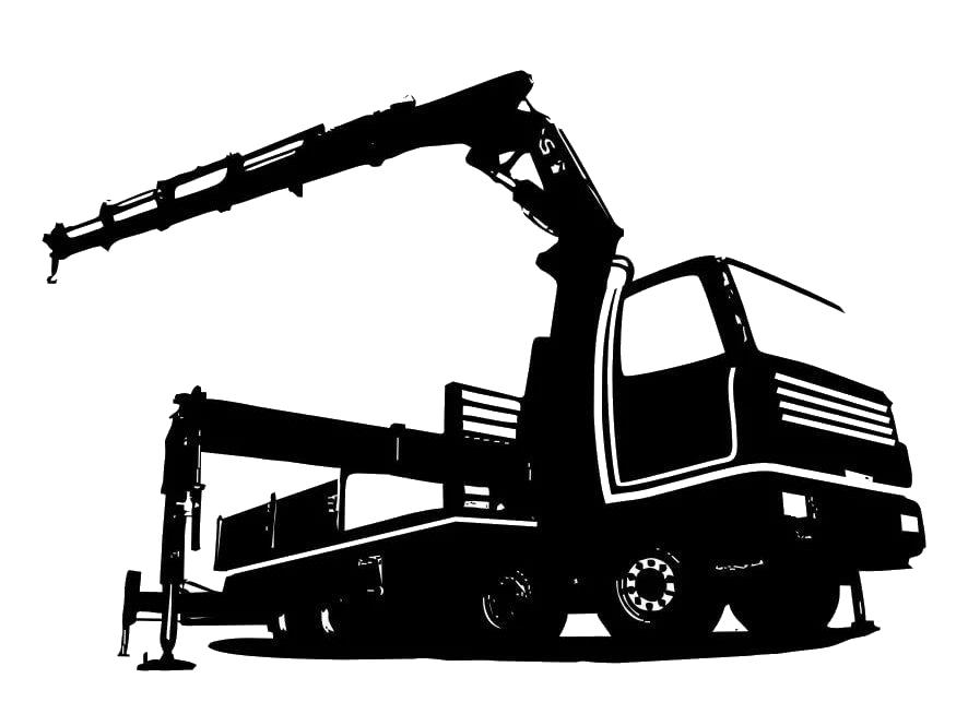 Кран манипулятор и перевозка грузов.