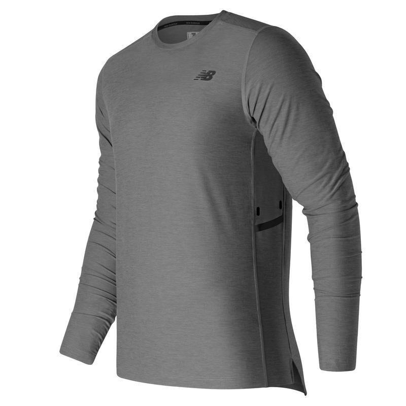 New Balance лонгслив футболка с длинным рукавом