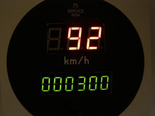 Спидометр - одометр цифровой