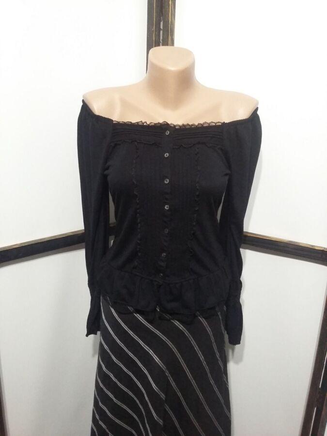 Блуза блузка кофточка бренд After All с открытыми плечами
