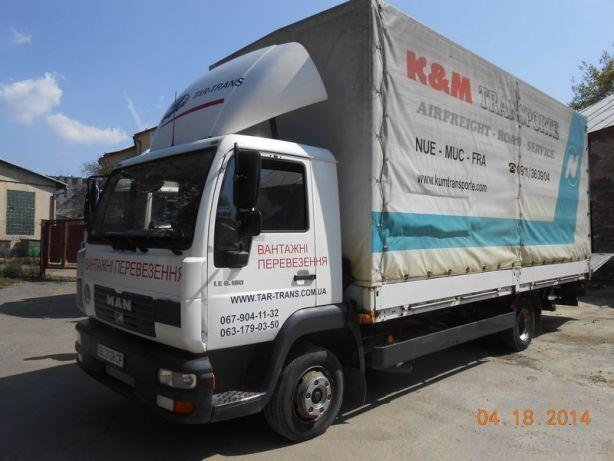 Вантажні перевезення  5т 10т 15т вантажники