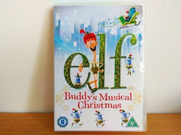 Диск Warner Bros.  рождественский мюзикл бадди.