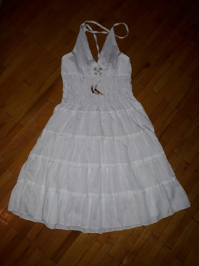 Плаття біле, сукня літня, платье Fasion