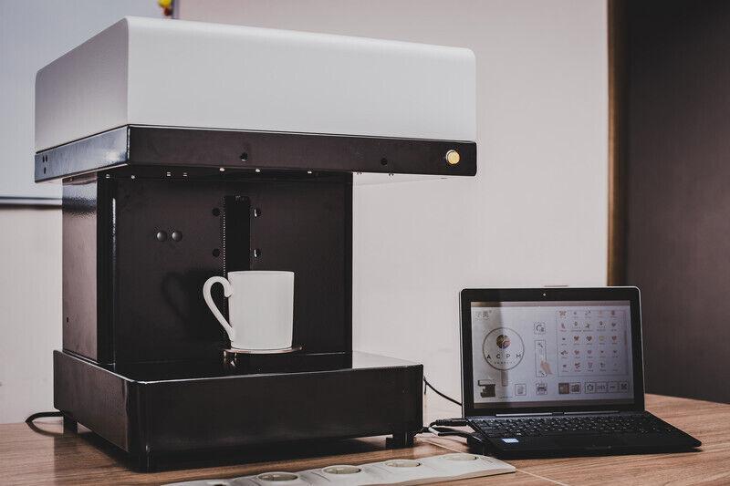 аппарат для нанесения фото на кофе только хотела