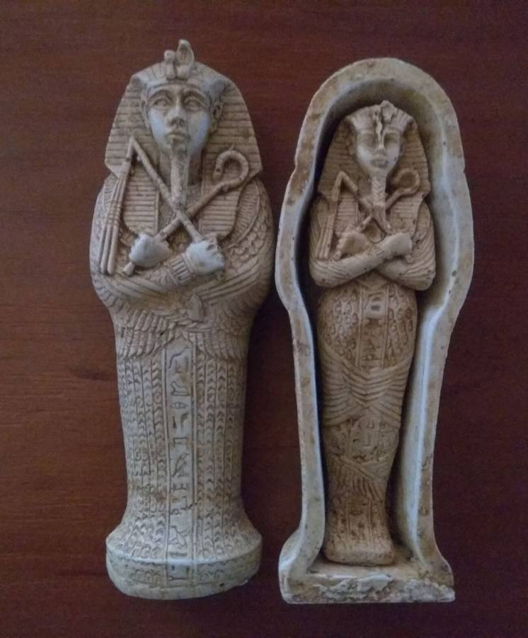 Саркофаг фараона Тутанхамона (Египет)