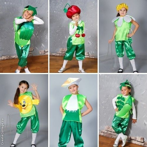 костюм овощей и фруктов к празднику золотой осени
