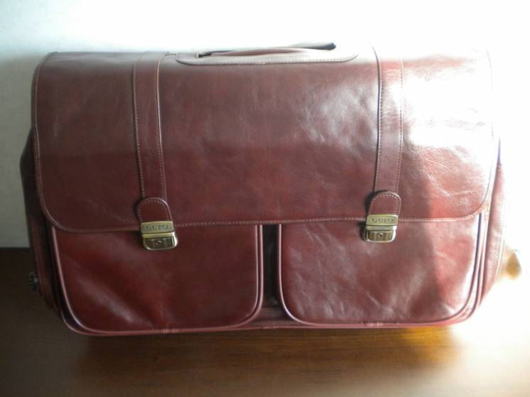 Дорожная сумка Gufo из натуральной кожи