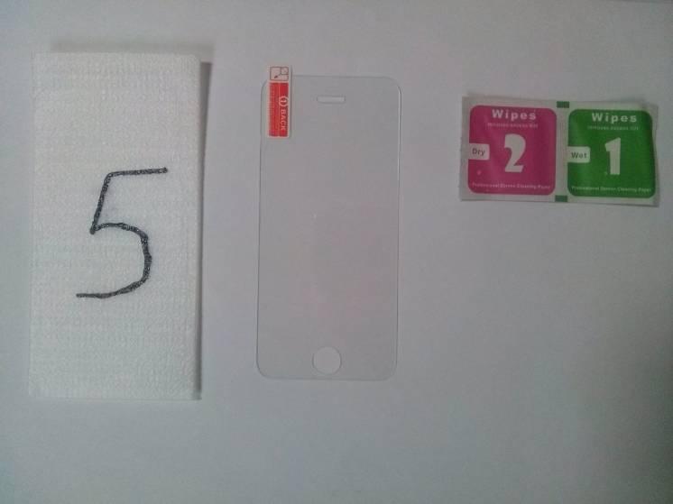 Стекло закаленное на iphone 5