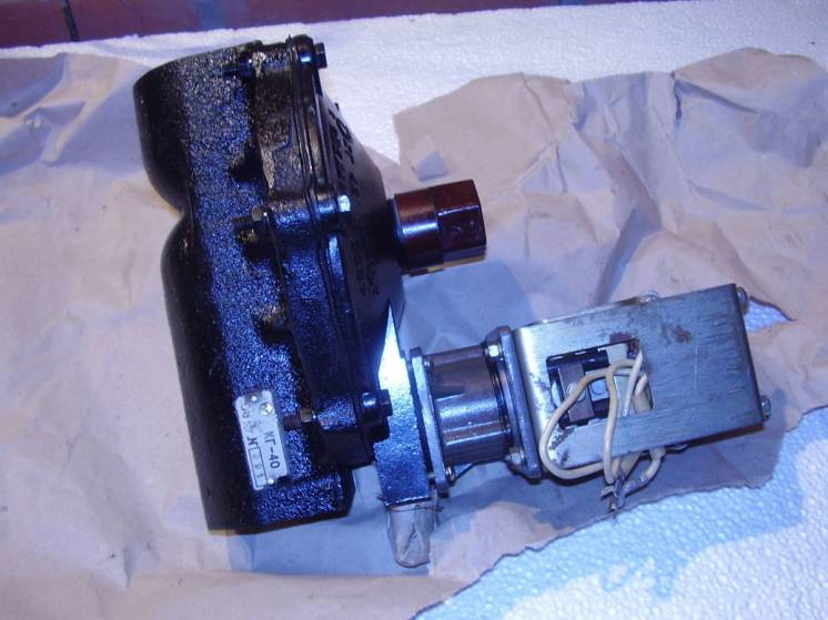 Клапан газовый КГ-40