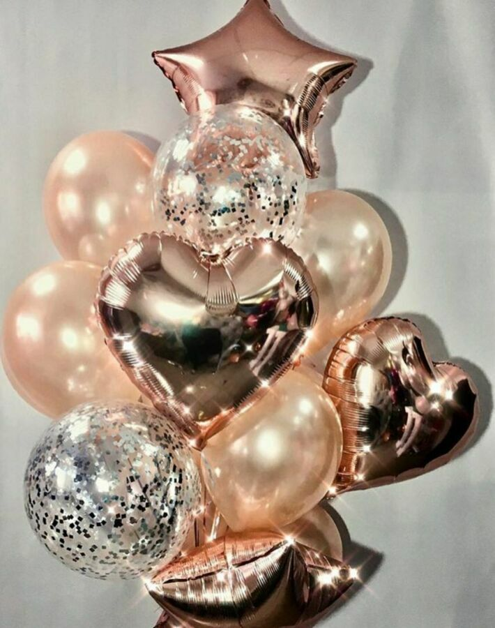 Гелиевые шары, шарики на праздник, летающие шары, шары с гелием