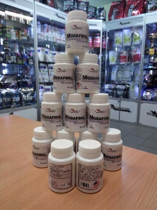 БАД Модафинил modafinil 100 мг 60 капc. ноотроп стимулятор концентраци