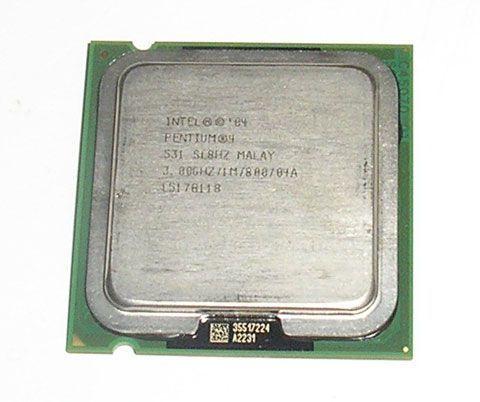 Процессор Intel Pentium 4 531 3.0GHz/800MHz/1024k s775 + кулер