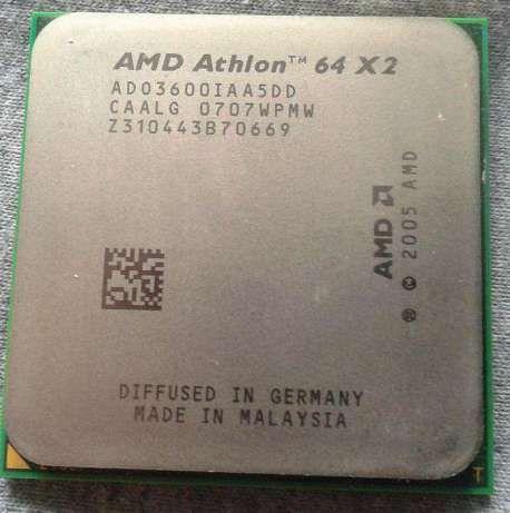 Процессор AMD Athlon 64 x2 3600+
