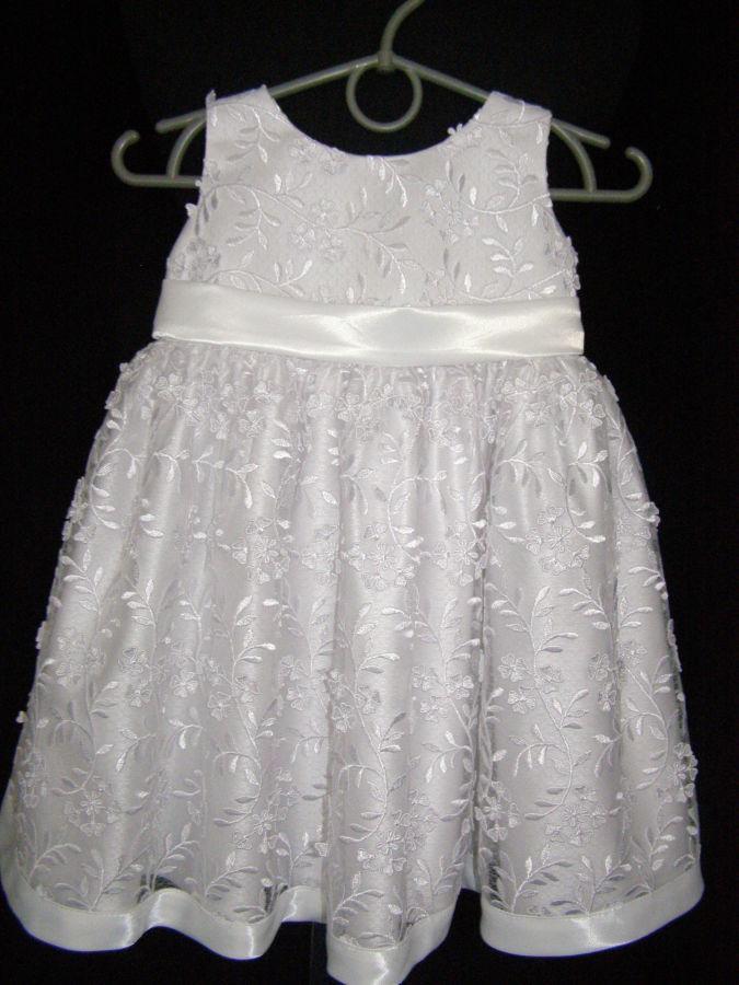 Детское гипюровое платье