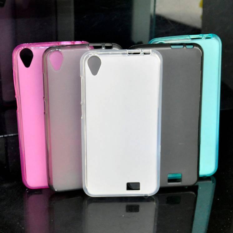 HOMTOM HT16 Силиконовый бампер черный\розовый  в наличии!