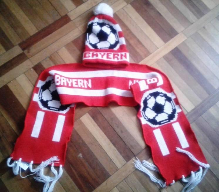 Комплект шарф-+шапка