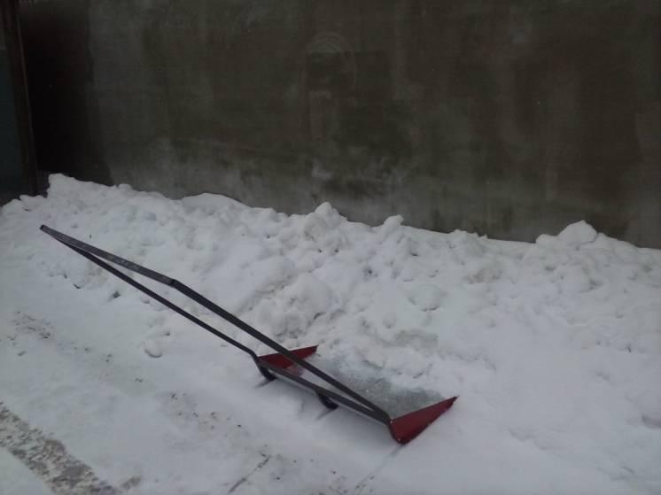 Скрепер(лопата) для снега