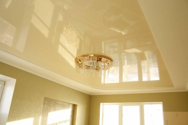 Современные и практичные натяжные потолки