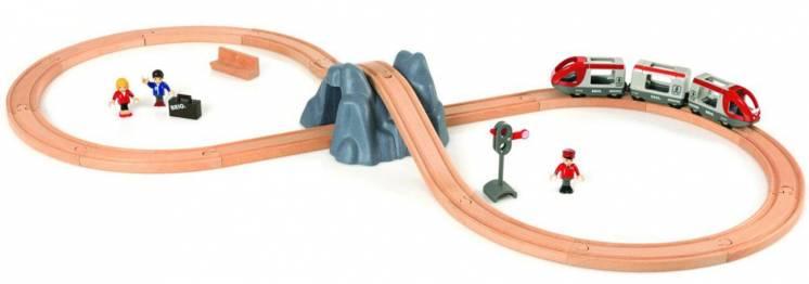 Brio (брио) 33106 деревянная железная дорога скоростной экспресс
