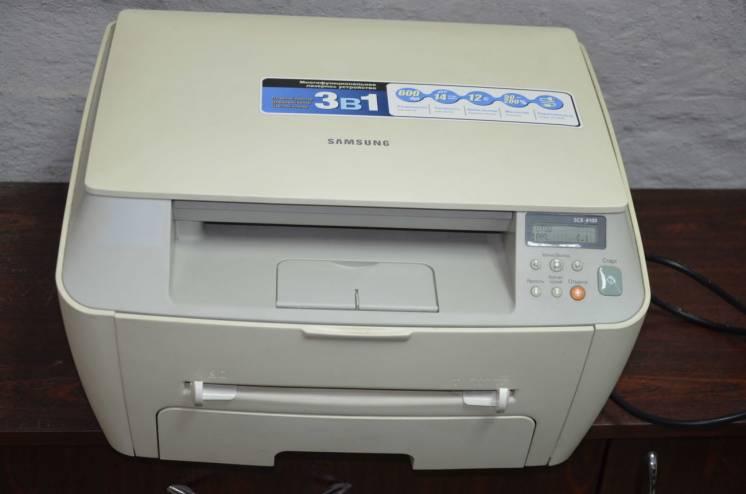 МФУ Samsung SCX-4100 лазерный, пробег 5900