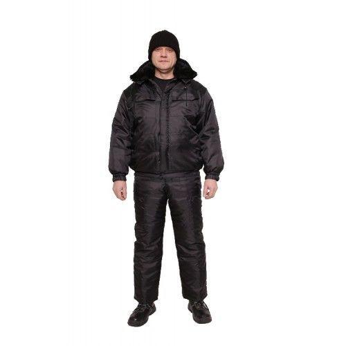 Полукомбинезон рабочий с курткой утепленные - Мустанг