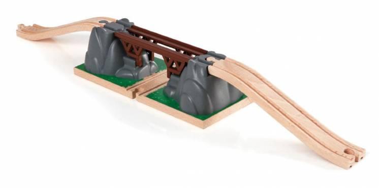 Деревянная железная дорога Brio (брио) 33391 разрушающийся мост