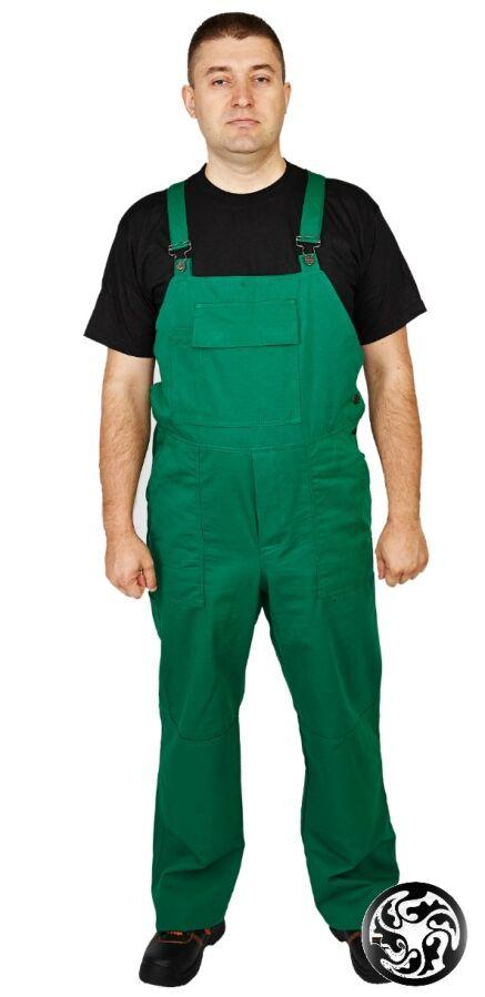 Полукомбинезон с курткой Евро тк. саржа 100% хб, зеленый