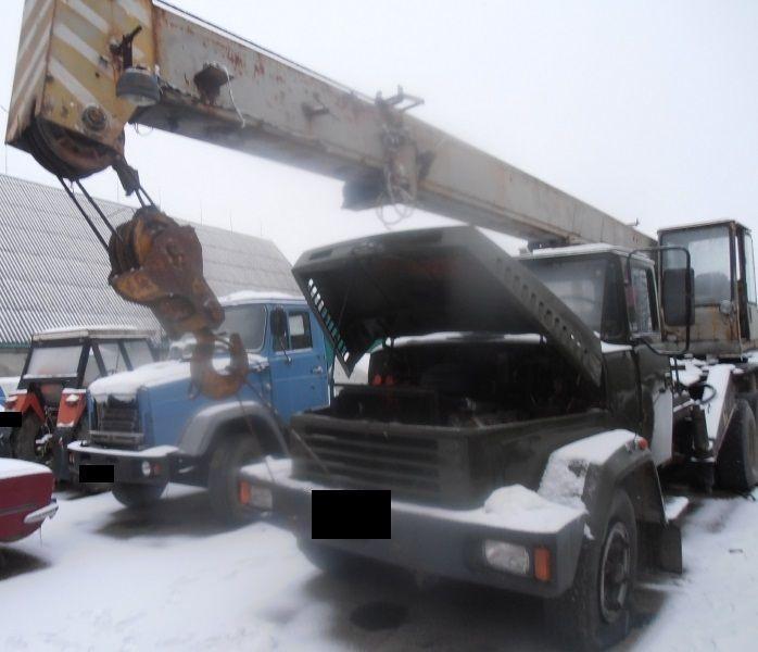 Продаем автомобильный кран ДАК КС-3575А,10 тонн, КРАЗ 250, 1991 г.в.