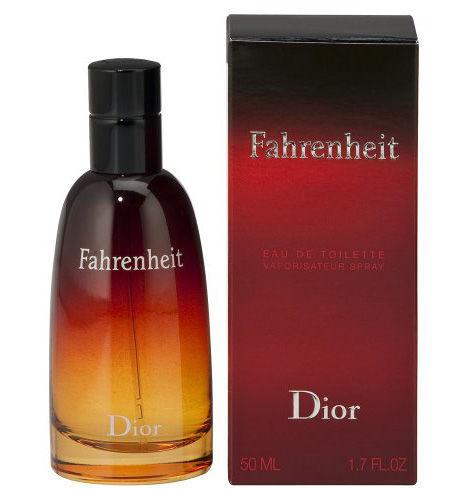 Fahrenheit Christian Dior 100 мл. Мужская туалетная вода. Франция