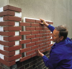 Утепление стен фасадов термопанелями.