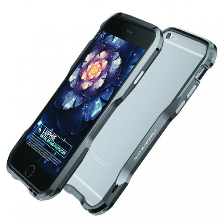 Стильный алюминиевый бампер Luphie Iphone5 Iphone6 Iphone7 X Xs Xr