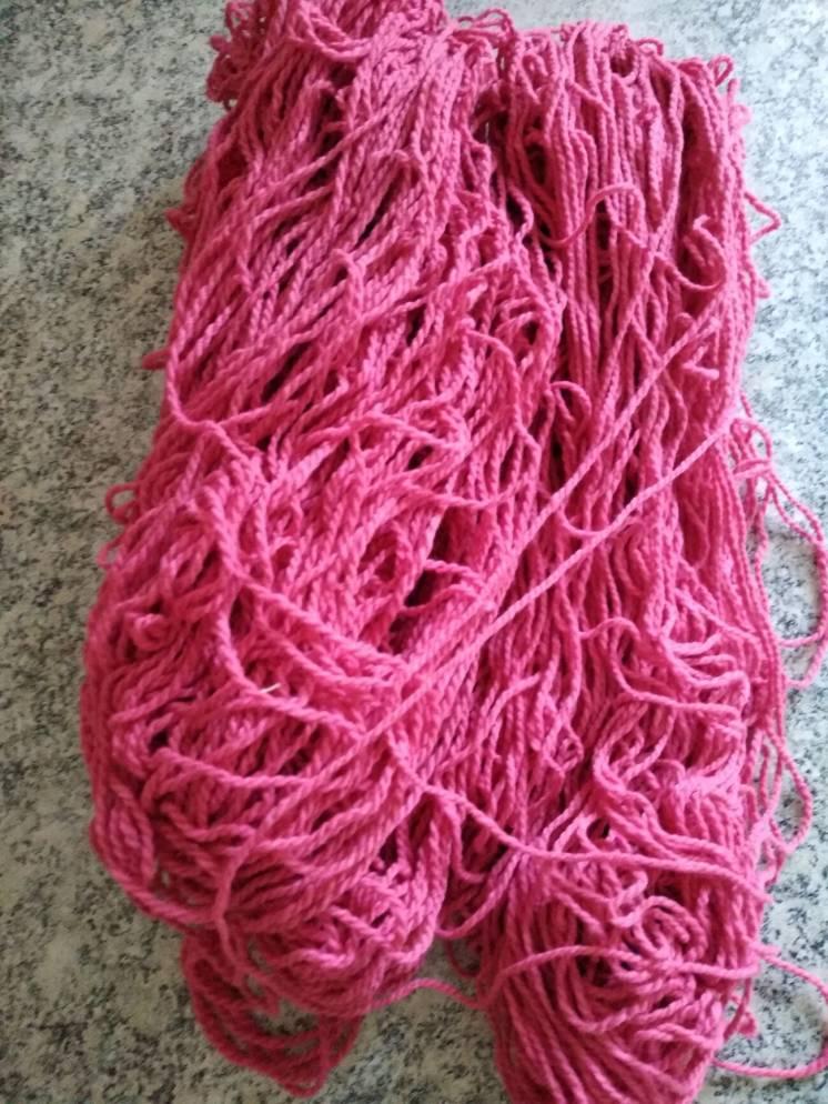 пряжа для вязания розовая