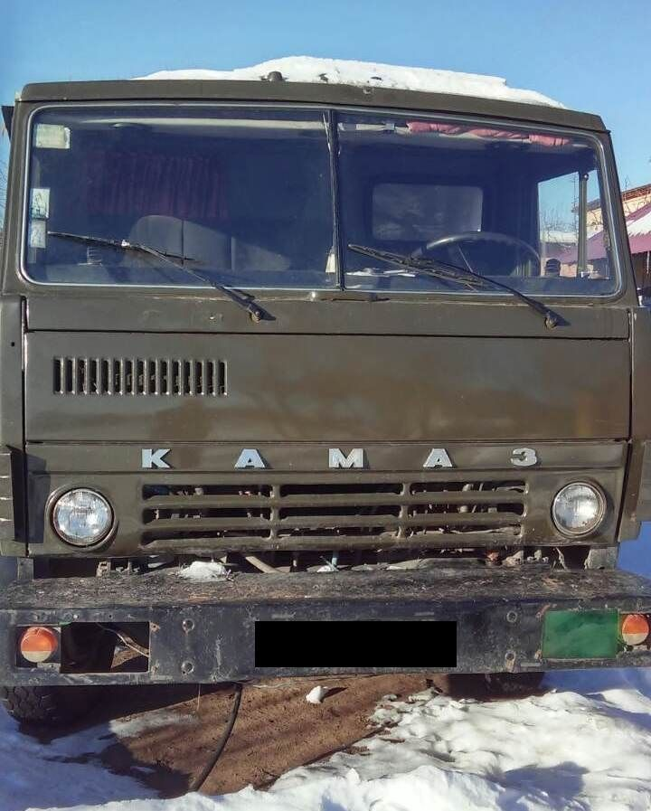 Продаем самосвал КАМАЗ 5511, 10 тонн, 1991 г.в.