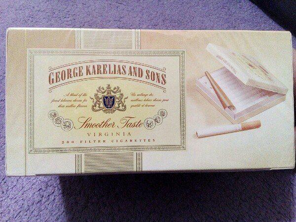 Купить george karelia and sons сигареты где можно купить сигареты если нет 18 лет