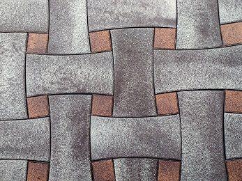 Тротуарная плитка вибропрессованая 25,40,60,80мм