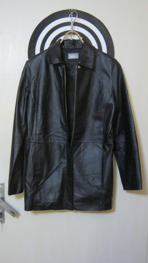 Женская кожаная куртка. Размер – «S» (44-46)
