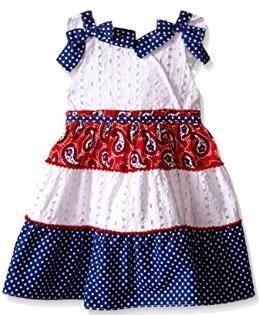 Нарядное платье с оборками Nannette (сша) 4, 5 лет