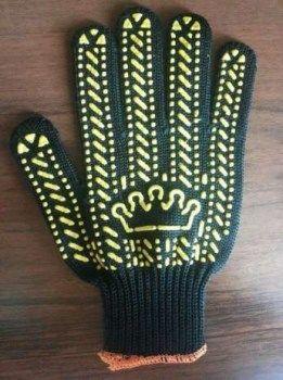 перчатки трикотажные с ПВХ-точкой