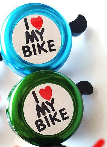 Звоночек звонок велосипед беговел самокат вело i love my bike