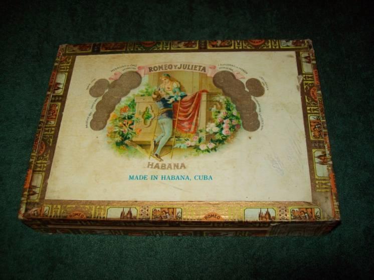 Коробка от сигар ROMEO Y JULIETA Куба