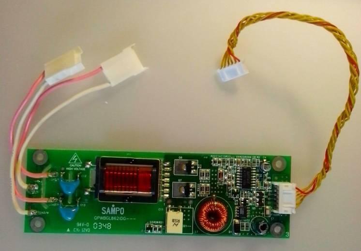 Инвертор для LCD монитора MAG PS-576 с лампами
