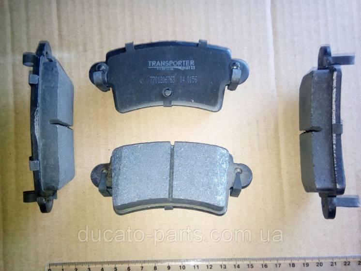 Тормозные колодки задние R16 Рено Мастер / Renault Master